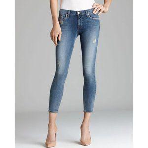 Hudson dakota crop skinny jeans  piping 25